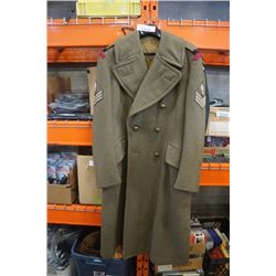 GREATCOAT ARMY PATTER ROYAL CANADIAN ENGINEERS - 1952