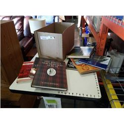 BOX OF COFFEE TABLE BOOKS - ART AND TRAVEL