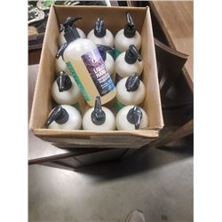 BOX OF NEW LIQUID HAND SOAP