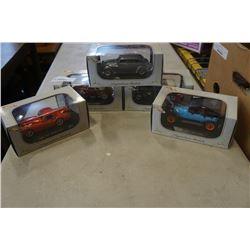 5 DIE CAST CARS - 30s CARS