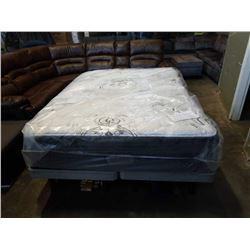 Queensize Beauty rest imperial collection brixton hi loft pillow top mattress, retail $1499