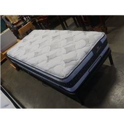 ELECTRIC ADJUSTABLE BED FRAME - RETAIL $800 AND SERTA  BRONWYN PERFECT SLEEPER SINGLE SIZE MATTRESS