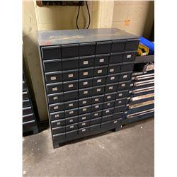 60 Drawer Storage Unit