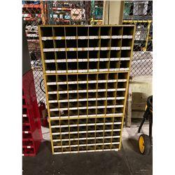 (3) Pigeonhole Bin Cabinets