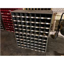 (2) Pigeonhole Bin Cabinets