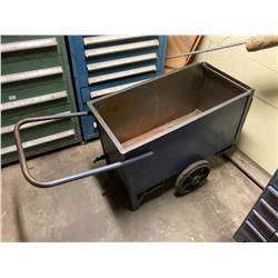 2 Wheel Hopper Cart