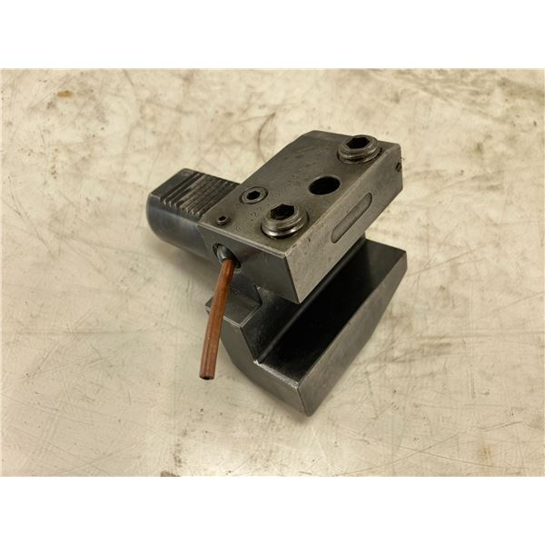 "CNC 1.25"" Capacity VDI 40 Turret Tool Holder, P/N: 22.4025 1"" L.H."