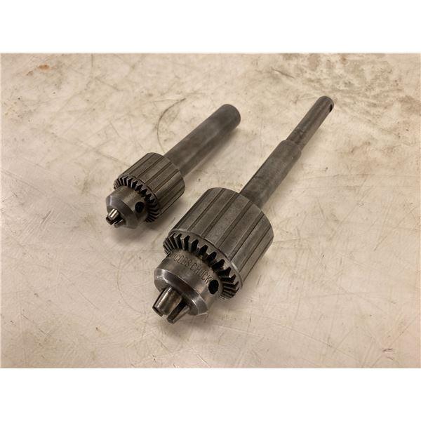 (2) Jacobs Drill Chucks, P/N's: No. 7B + No. 32