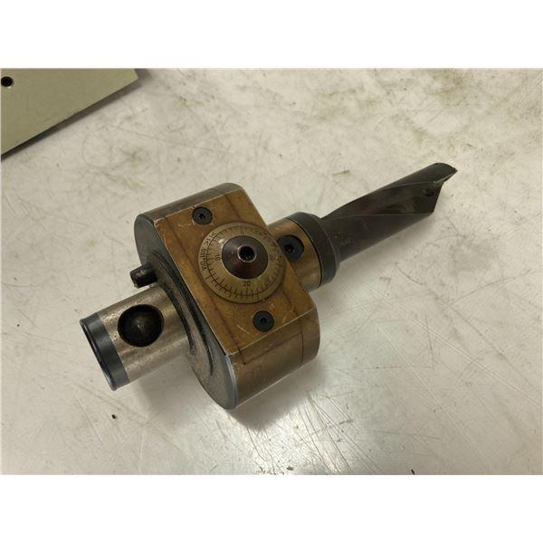 Komet ABS 63/40 KFK-2 Finish Boring Head Unit W/ TB-2427-A Cutter