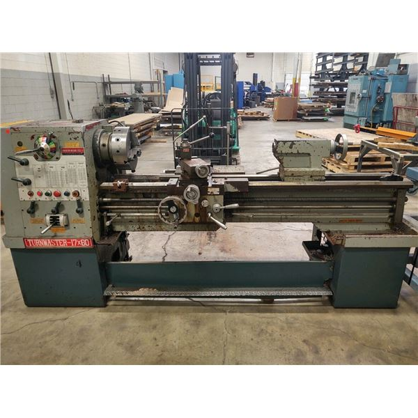 American Machine Tool Turn Master 17 x 60 Lathe **LOCATED HOLLAND, MI**