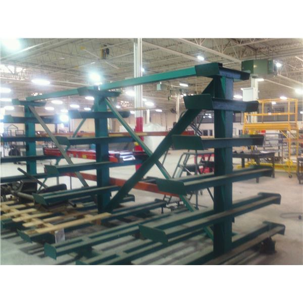 A-Frame Raw Material Rack **LOCATED HOLLAND, MI**