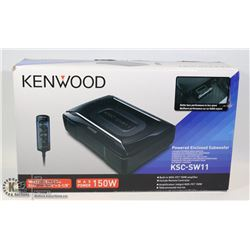 KENWOOD POWERED ENCLOSED 150W SUBWOOFER