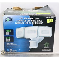 NEW HOME ZONE LED SECURITY LIGHT 3000 LUMENS