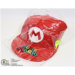 NEW RED SUPER MARIO HAT