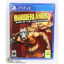 NEW BORDERLANDS GAME OF THE YEAR EDITION FOR