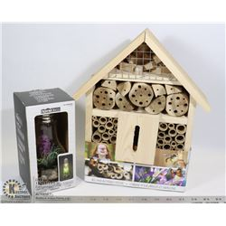 BEE AND BUTTERFLY HOUSE KIT