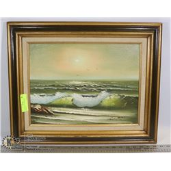 ARTIST NEILSON SIGNED OIL PAINTING