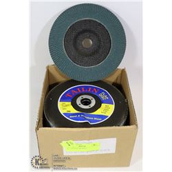 10 - 7 INCH FLAP DISCS