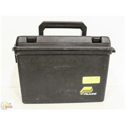 PLANO AMMO BOX -WATER PROOF AMMUNITION STORAGE.