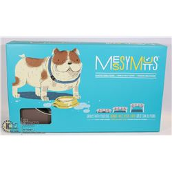 MESSY MUTTS FOOD DISH THAT GROWS WITH YOUR DOG