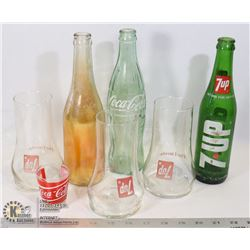 COKE GINGER ALE 7 UP COLLECTIBLE PIECES