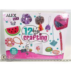 NEW ALEX D.I.Y. 101PC 12 DAYS OF CRAFTING SET