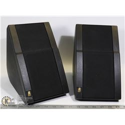 SET OF TWO ACOUSTIC RESEARCH SPEAKERS