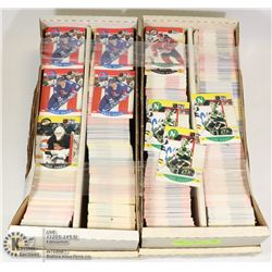FLAT OF HOCKEY CARDS