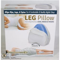 NEW LEG PILLOW: ALIGNS HIPS, LEGS, & SPINE