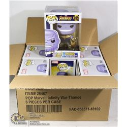 CASE OF 6 THANOS FUNKO FIGURES