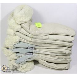 5 PAIR OF INSULATED WORK GLOVES