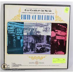 BIRTH OF THE BLUES LP RECORD BOX SET