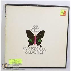 BEE GEES RARE, PRECIOUS & BEAUTIFUL LP RECORD BOX