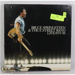BOXED SET OF 5 RECORDS BRUCE SPRINGSTEEN