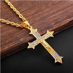 NEW RELIGIOUS CROSS NECKLACE
