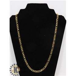 "NEW 24"" GOLD PLATED CHAIN"