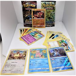 3)  LOT OF 23 ASSORTED POKEMON CARDS AND