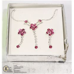 EARRING AND NECKLACE FASHION JEWELRY SET