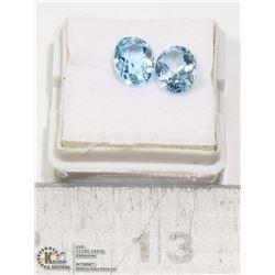 #9-BLUE TOPAZ GEMSTONES 4.65ct