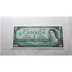 5)  CANADIAN CENTENNIAL (1864 TO 1987) $1.00