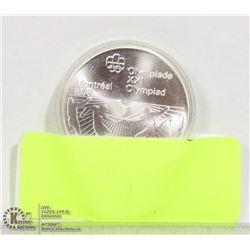 1976 CANADIAN  5 DOLLAR COIN SILVER