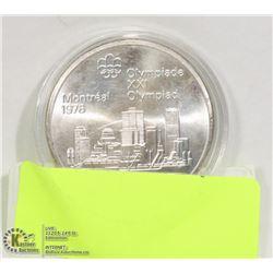 1976 CANADIAN 10 DOLLAR SILVER