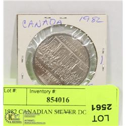 1982 CANADIAN DOLLAR