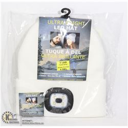 NEW WHITE LED HATS