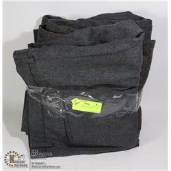 LOT OF 5 DRESS PANTS. 4 XL. 1 XXL