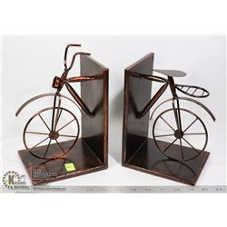 BICYCLE THEME BOOKEND SET