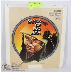 LASER DISC SANDS OF IWO JIMA