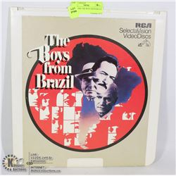 LASER DISC THE BOYS FROM BRAZIL