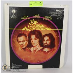 LASER DISC THE CHINA SYNDROME