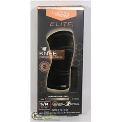 COPPER FIT ELITE KNEE COMPRESSION SLEEVE